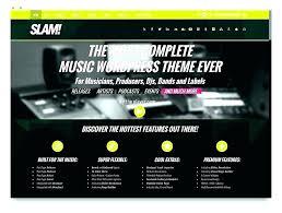 Music Newsletter Templates Music Teacher Website Template Flat Service Responsive Newsletter