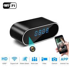 H.264 WiFi <b>Table Clock</b> Mini Camera <b>1080P HD</b> IP P2P DVR ...
