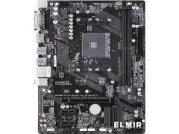 <b>Материнская плата</b> s-AM4 AMD A320 <b>Gigabyte GA</b>-<b>A320M</b>-<b>H</b> mATX