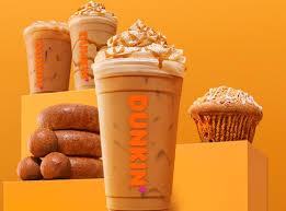 Dunkin Donuts Allergen Chart Dunkins Cinnamon Sugar Pumpkin Latte Nutrition Calories