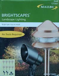 malibu brightscapes antique copper landscape lighting kit model lt49710tkxl co uk garden outdoors