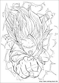 Dragon Ball Z Printable Coloring Pages Dragon Ball Z Coloring Dragon