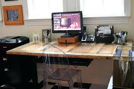 old door desk home design doing rolling chair covers diy made from