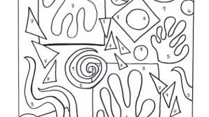 Pleasurable Inspiration Henri Matisse Coloring Pages Coloring