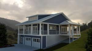 hillside house plans amazing design underground for sloped land home sloping lot lake smart inspiration remarkable