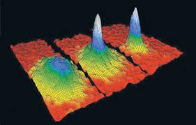 Resultado de imagen de Condensado de Bose-Einstein de átomos de sodio