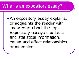the expository essay ppt  what is an expository essay