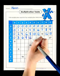 Advanced Multiplication Chart Multiplication Worksheets