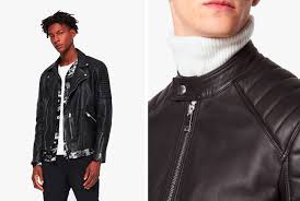like a lot of the clothing guys wear today the leather jacket got its start as a utilitarian object there was no need for a er jacket a motorcycle