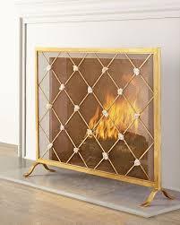 giallastro fireplace screen neiman marcus