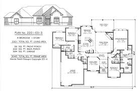 1 story 4 bedroom 3 1 2 bathroom 1 dining room 1 breakfast area 1 family room and 2 car garage 2201 sq living area house plan