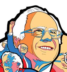 Bernie Sanders poster — Jeremy Wheeler
