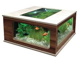fish tank table aquarium coffee tables fish tank coffee tables awesome with best coffee table aquarium