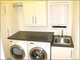 laundry cabinets sink cabinet menards room above washer diy adelaide