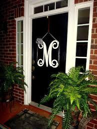 letters for front doorInitial monogram front door wreath  from housesensations on Etsy