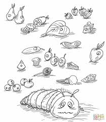 Small Picture the very hungry caterpillar coloring page Geborneoclub