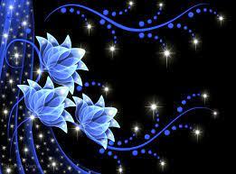 Neon Flowers HD wallpaper #1192293