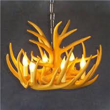 in stock rustic cascade chandelier antler chandelier antler lighting with 6 lights yellow dining room lighting ideas living room bedroom ceiling