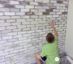 adding texture to faux brick with joint compound