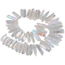 <b>TUMBEELLUWA</b> Angel Aura <b>Titanium Coated</b> Quartz <b>Crystal</b> Points ...