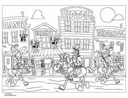 western coloring pages. Exellent Pages Wild West Coloring Page Printable Page  Spoonful On Western Pages I