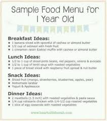 Diet Chart For 1 Year Old Baby Pls Tell Me The Daily Food Chart For Two Year And One Year Baby