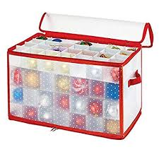 Image Unavailable Amazon.com: Simplify Ornament Storage, 112-Count-Red, Red: Home