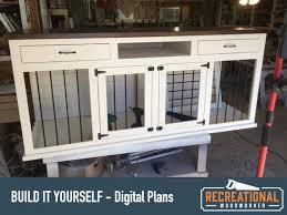 digital plans wooden dog crate