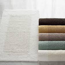 incredible reversible bath rugs cotton bamboo reversible bath rug kassatex