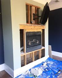 stack stone fireplace. Stacked Stone Fireplace Surround - Bower Power Stack