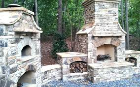 outdoor masonry fireplace brick with grill oven plans fireplaces cost outdoor masonry fireplace brick