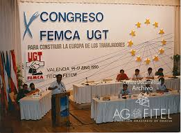 Resultado de imagen de FEMCA UGT