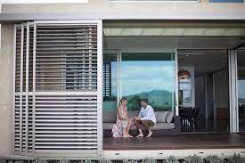 louvre sliding doors outdoor shutters