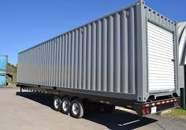 Shipping Container with Roll-up Doors | Falcon Structures