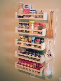 Ikea Kitchen Spice Rack Diy Spice Rack For Tiny Kitchens Without Storage Space 20x32