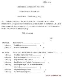 Consignment Inventory Agreement Template Terms And Conditions Sample