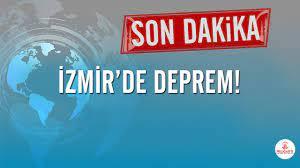 Son depremler! İzmir'de korkutan deprem - Son dakika haberler
