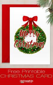 Free Printable Christian Christmas Cards L L L