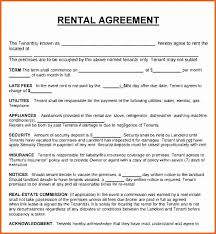 Room Rental Contract Extraordinary Simple Room Rent Agreement Sample Fresh Room Rental Agreement