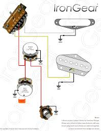 irongear pickups wiring 2 x humbuckers 2 volume 2 tone 3 way toggle selector coil switching mr page