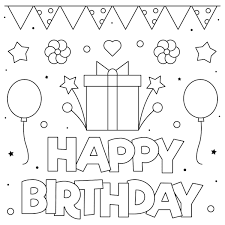 Personalize and print funny birthday cards from american greetings. 55 Best Happy Birthday Coloring Pages Free Printable Pdfs