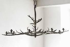 tree branch pendant light luxury handmade tree branch chandelier steel at 1stdibs