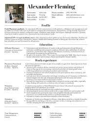Student Resume Pharmacy Resume Samples Career Help Center