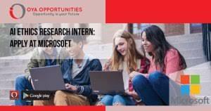 Microsoft Internship Apply Microsoft Internship Archives Oya Opportunities
