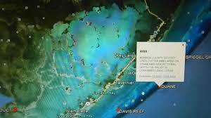 Key Largo Fishing Charts Google Maps Key Largo Florida Printable Maps