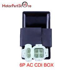 bike box in electrical ignition ac cdi box 110cc 125cc 150cc 200cc 250cc atv bike go kart sunl taotao 6p pin