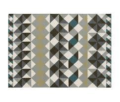 mosaïek kilim rug grey 1 by gan rugs