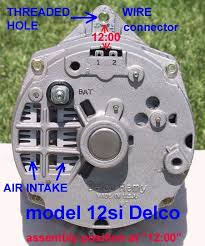 few questions on alternator upgrade Delco Remy Alternator Wiring Diagram For 31si