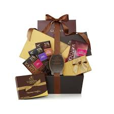 iva chocolate connoisseur gift basket