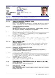 Projects Inspiration Sample Of Good Resume 1 Examples Resumes That